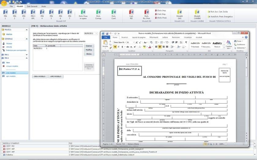 CPI win® Attività - Composizione Automatica Modelli
