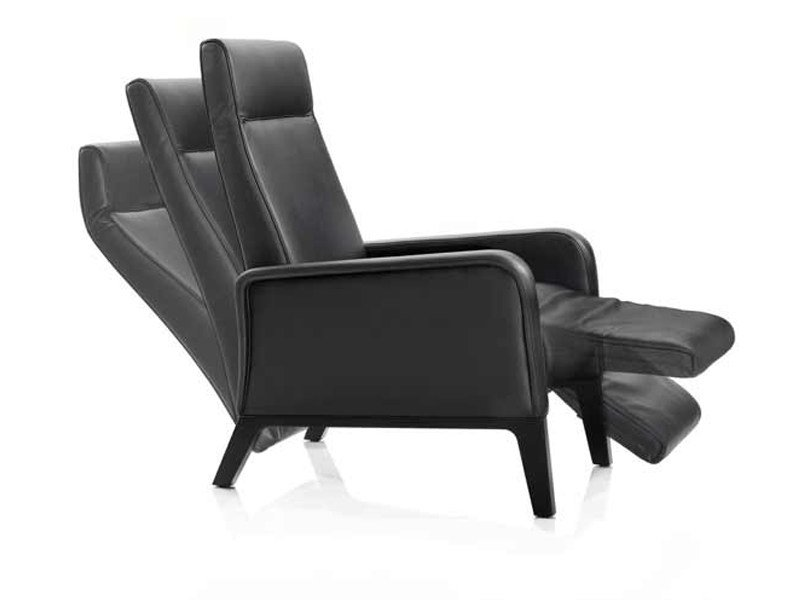 Recliner armchair with footstool STUART - Wittmann