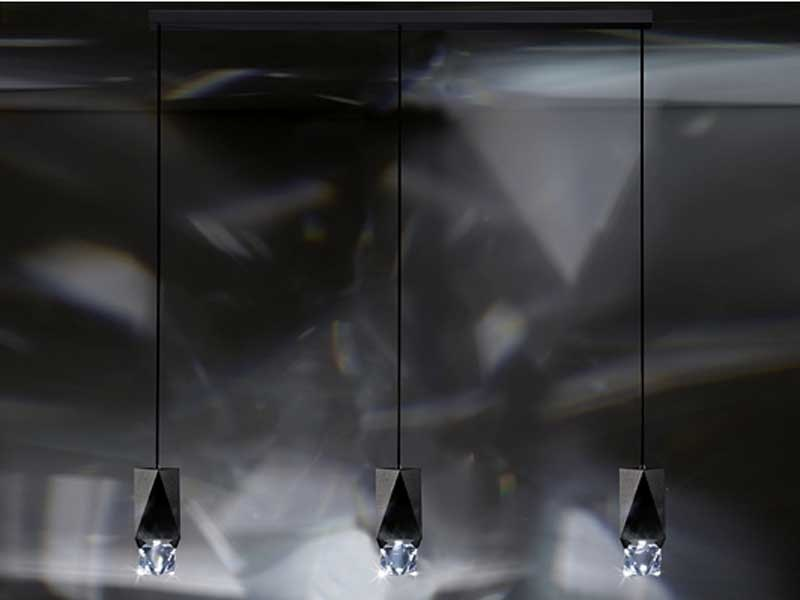 Halogen crystal pendant lamp OCTA Pendant - Swarovski