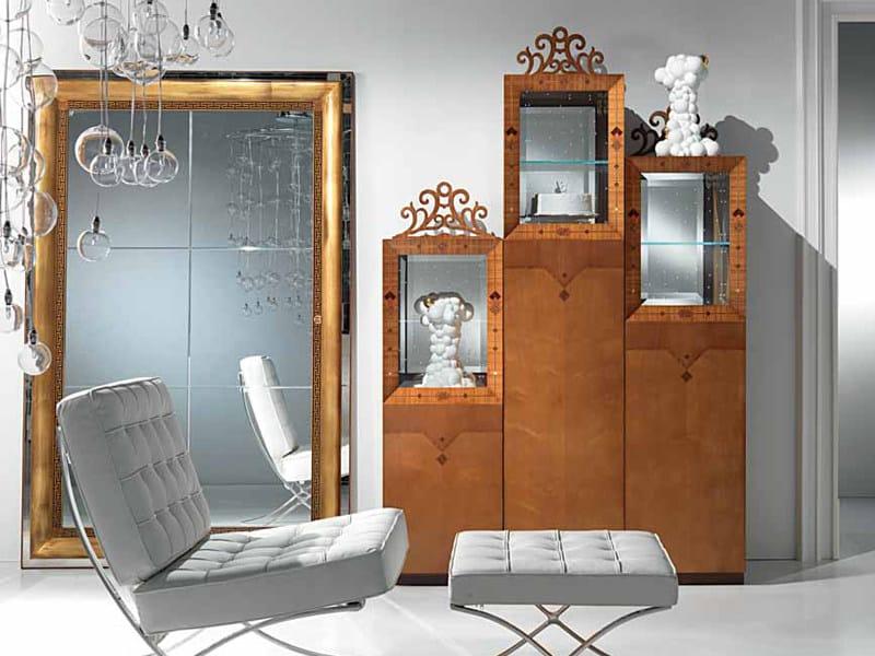 Specchio a parete con cornice dal specchio carpanelli - Specchio invecchiato ...