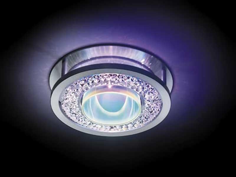 Halogen recessed crystal spotlight FANA - Swarovski