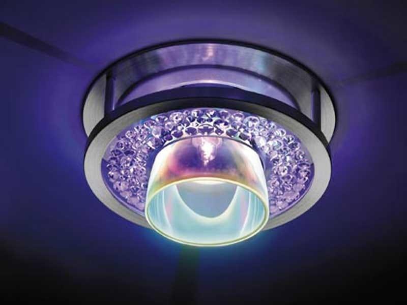 Halogen recessed crystal spotlight AVANA - Swarovski