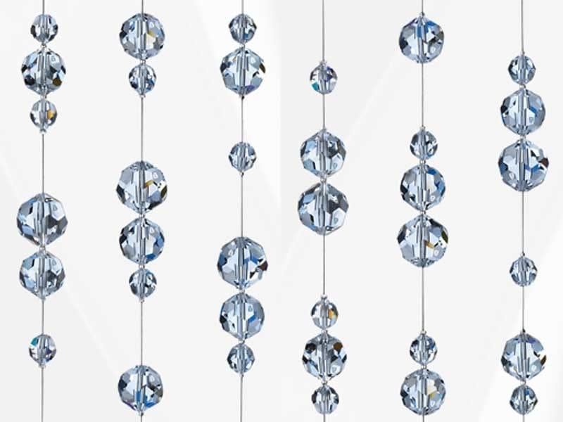Hanging decoration with Swarovski® Crystals STAINLESS STEEL CRYSTAL STRANDS - Swarovski