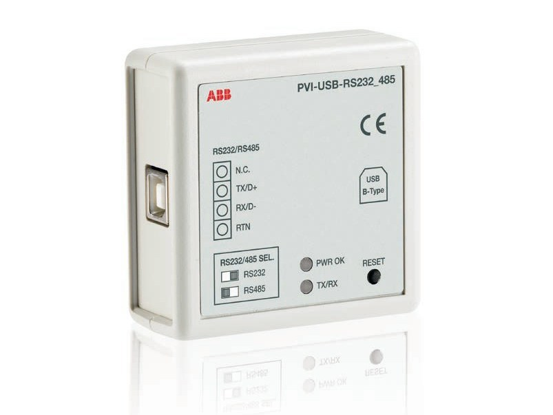 Monitoring system for photovoltaic system PVI-USB-RS232_485 Converter - ABB