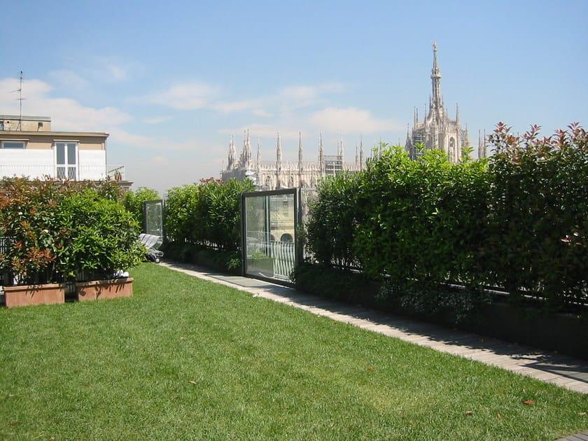 Roof garden system PERLIROOF® INTENSIVO LEGGERO by Perlite Italiana