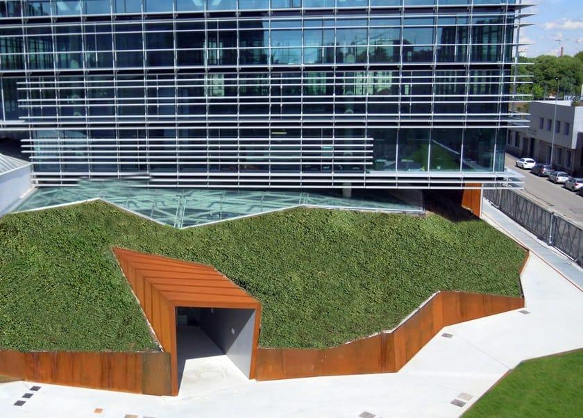 Giardini pensili perliroof estensivo perlite italiana for Realizzazione giardini pensili