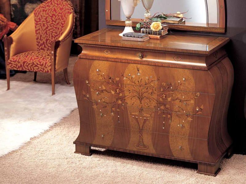 Solid wood dresser FLOREALE | Dresser - Carpanelli Classic