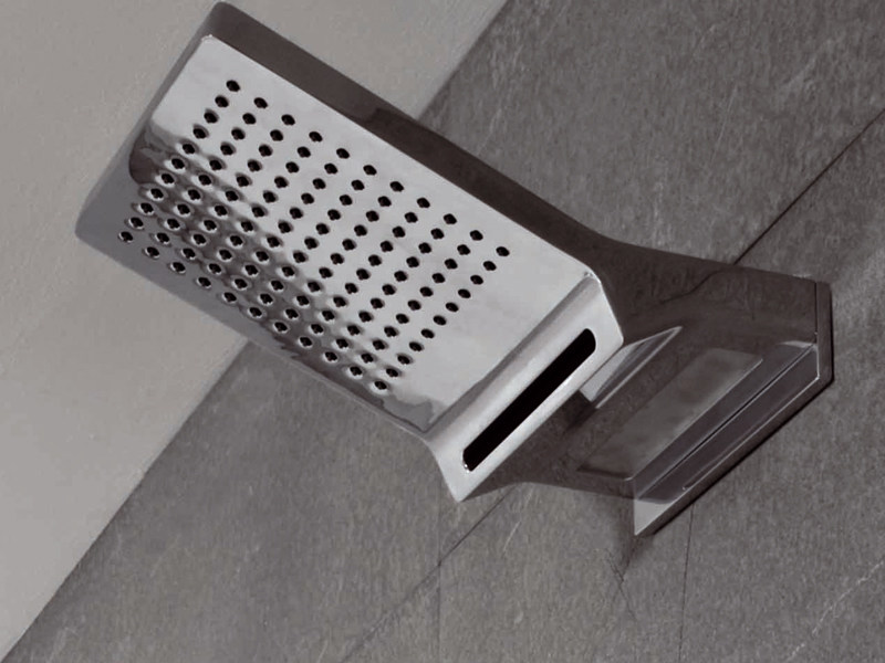 Wall-mounted waterfall shower FARAWAY | Wall-mounted overhead shower - ZUCCHETTI