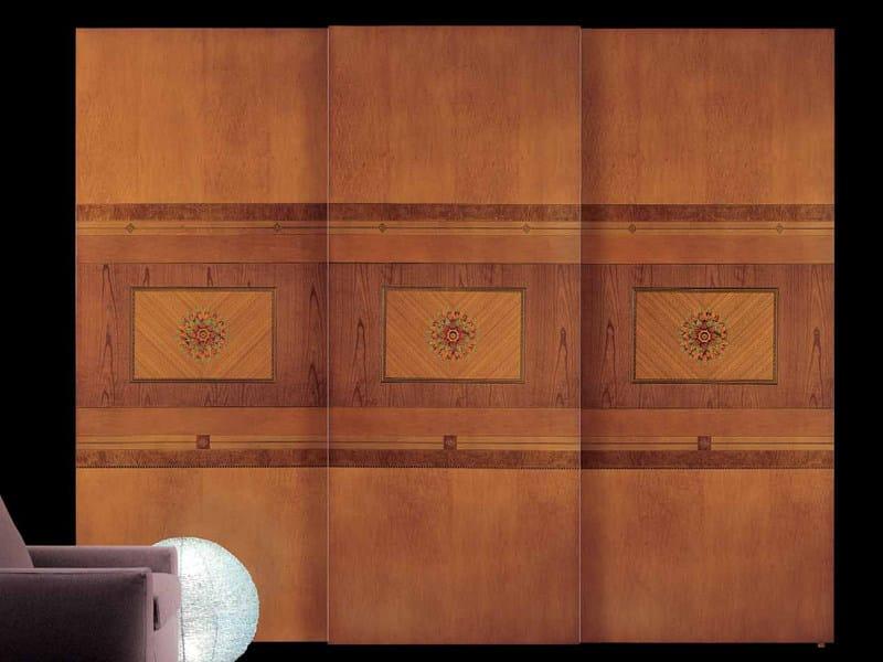 Wardrobe with sliding doors FLOREALE | Wardrobe - Carpanelli Classic