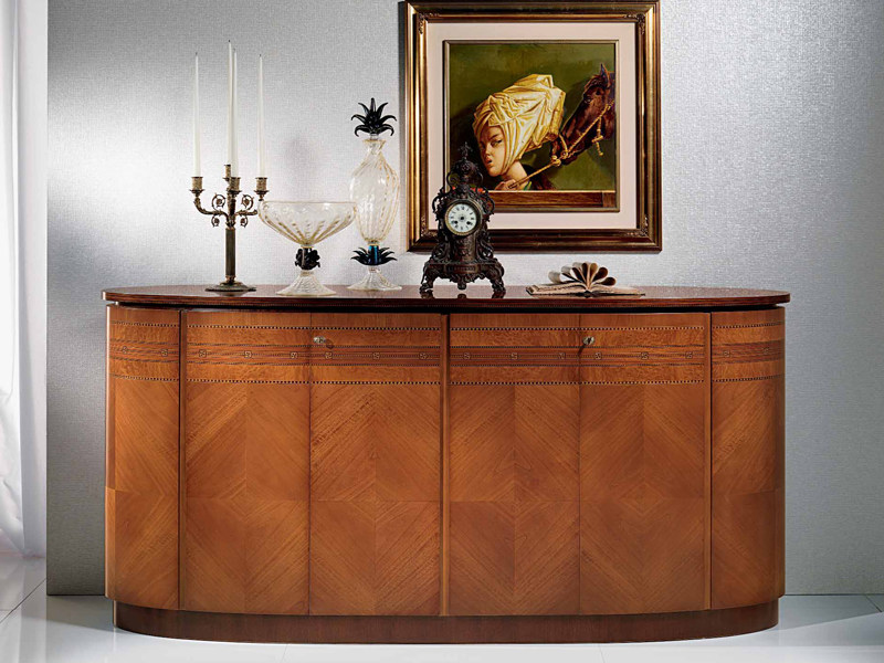 Neoclassical style wooden sideboard with doors NEOCLASSICA | Sideboard - Carpanelli Classic
