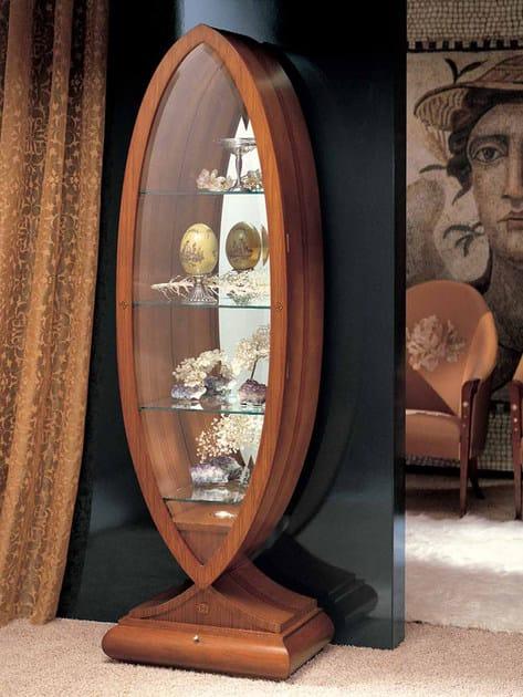 Cherry wood display cabinet GOCCIA | Display cabinet - Carpanelli Classic