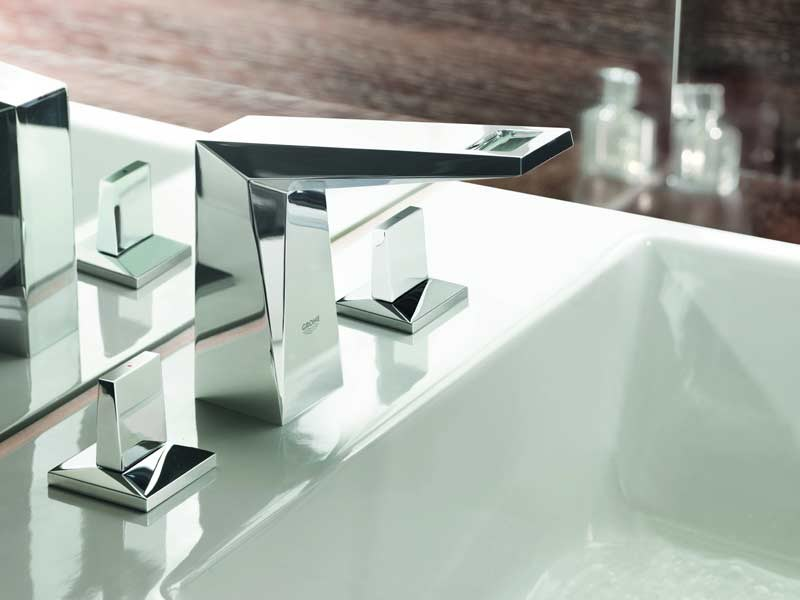 3 hole washbasin mixer ALLURE BRILLIANT | 3 hole washbasin mixer - Grohe