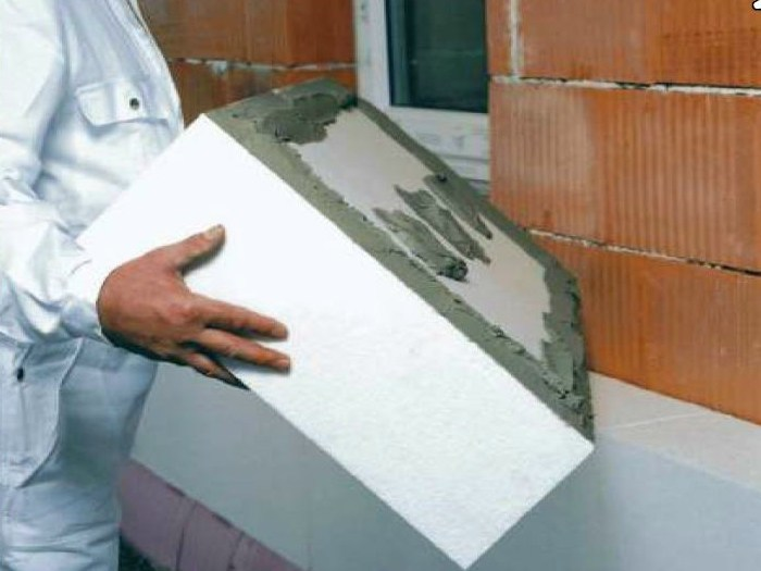 EPS thermal insulation panel ISOFORM - Cabox