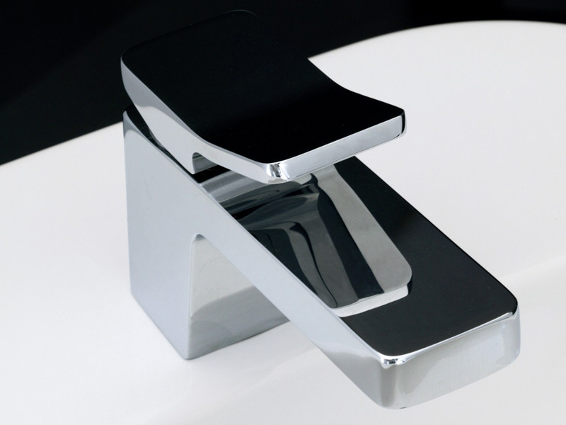 Chrome-plated 1 hole washbasin mixer SOFT | Washbasin mixer - ZUCCHETTI