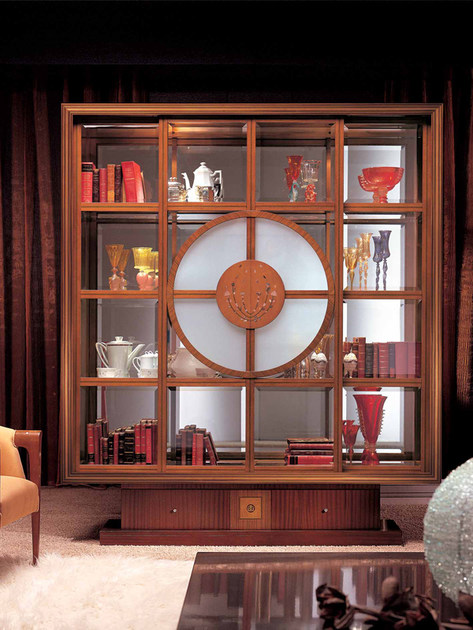 Bookcase Display cabinet IL QUADRO - Carpanelli Classic