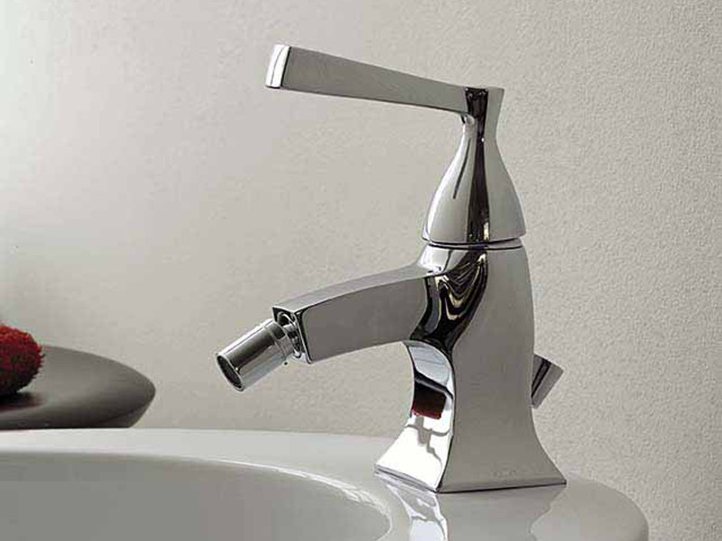 Chrome-plated 1 hole bidet mixer BELLAGIO | Bidet mixer - ZUCCHETTI