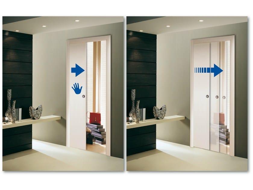 syst me de ralentissement pour la fermeture de la porte slow by scrigno. Black Bedroom Furniture Sets. Home Design Ideas