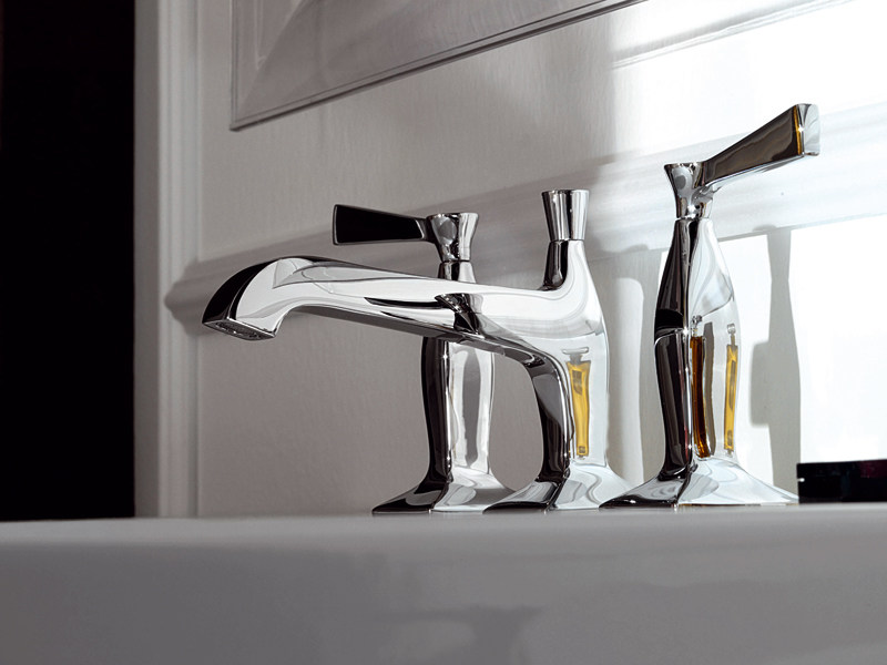 3 hole chrome-plated washbasin tap BELLAGIO | 3 hole washbasin tap - ZUCCHETTI
