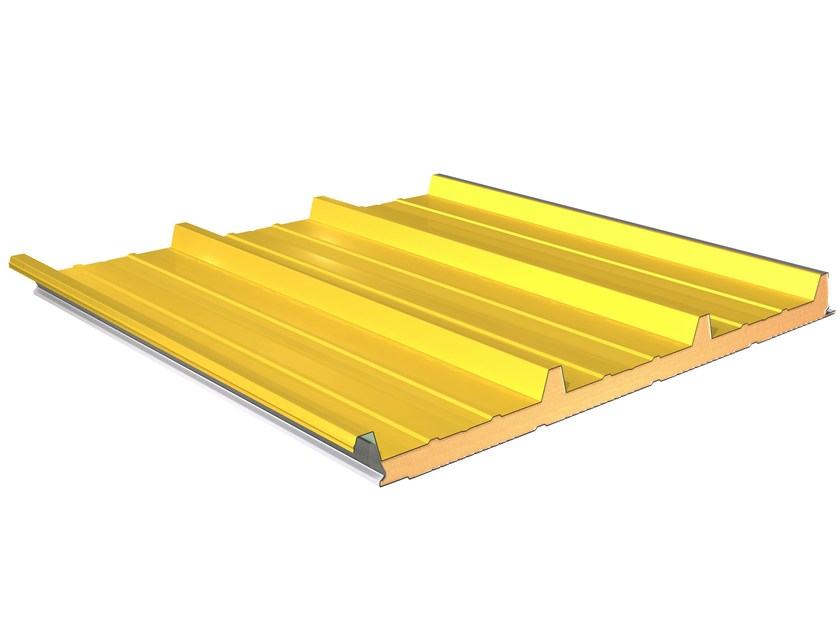Insulated metal panel for roof TERMOCOPERTURE® TCP/C - ELCOM SYSTEM