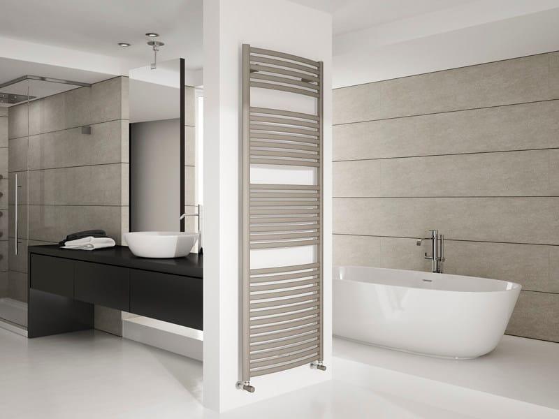 Wall-mounted steel towel warmer DUNA - IRSAP