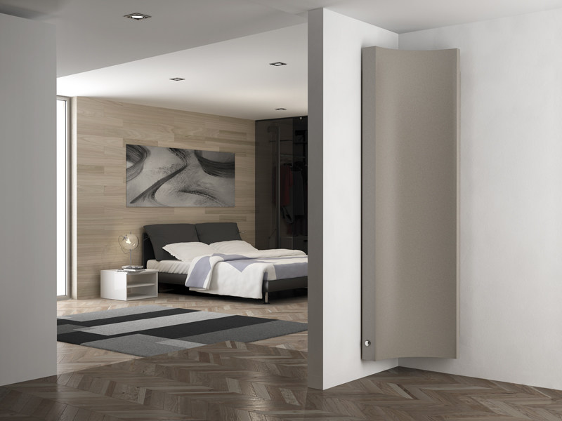 Wall-mounted steel decorative radiator KORNER - IRSAP