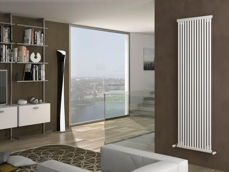 Wall-mounted steel decorative radiator SINTESI - IRSAP