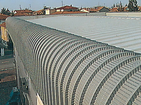 Pannello e lastra metallica per facciata