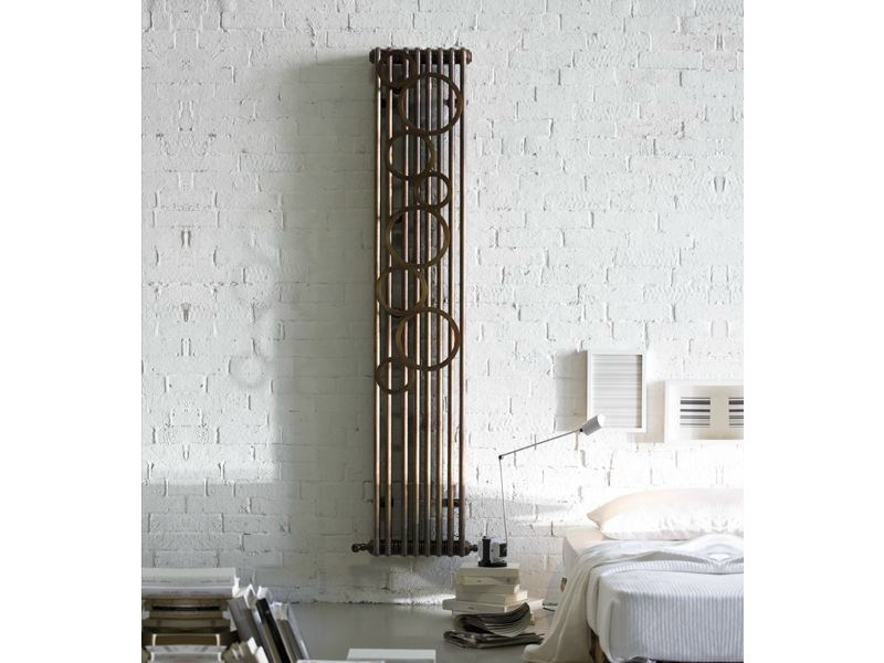 Wall-mounted steel decorative radiator TESI BUBBLE by IRSAP