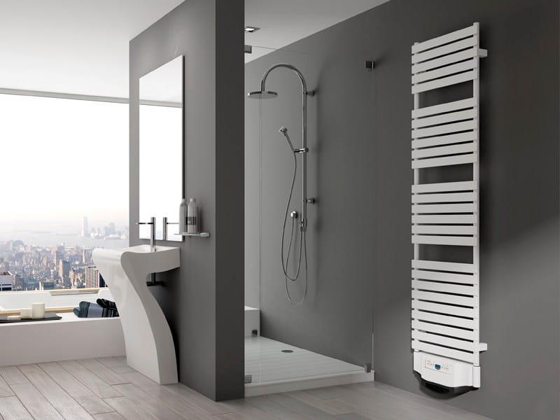 Scaldasalviette in acciaio xilo aliseo by irsap - Radiatori elettrici per bagno ...