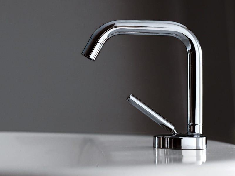 Chrome-plated 1 hole washbasin mixer ISYSTICK | Washbasin mixer by ZUCCHETTI