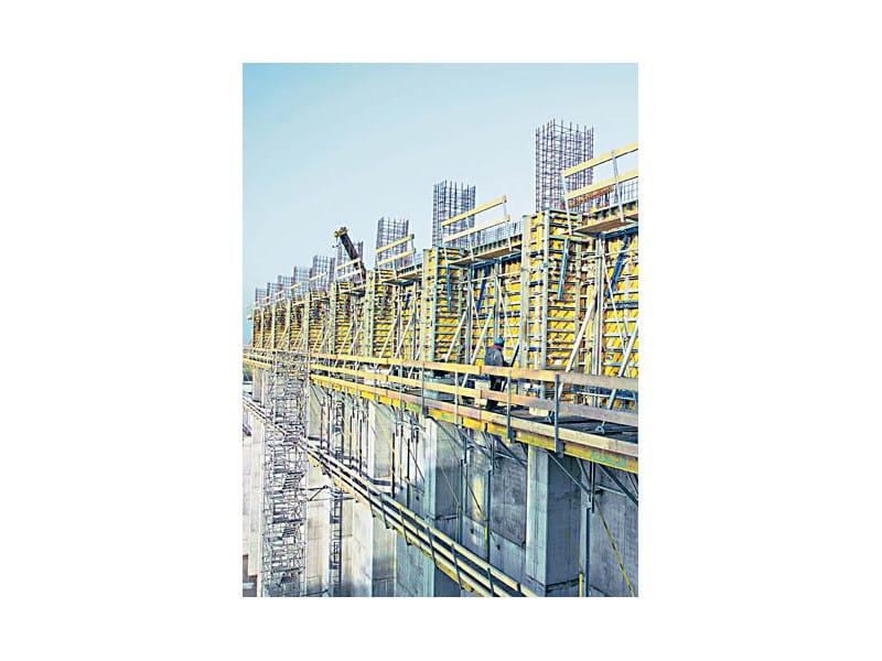 Puntellazione per getti controterra e di pareti sistema di for Software di progettazione domestica di piano terra