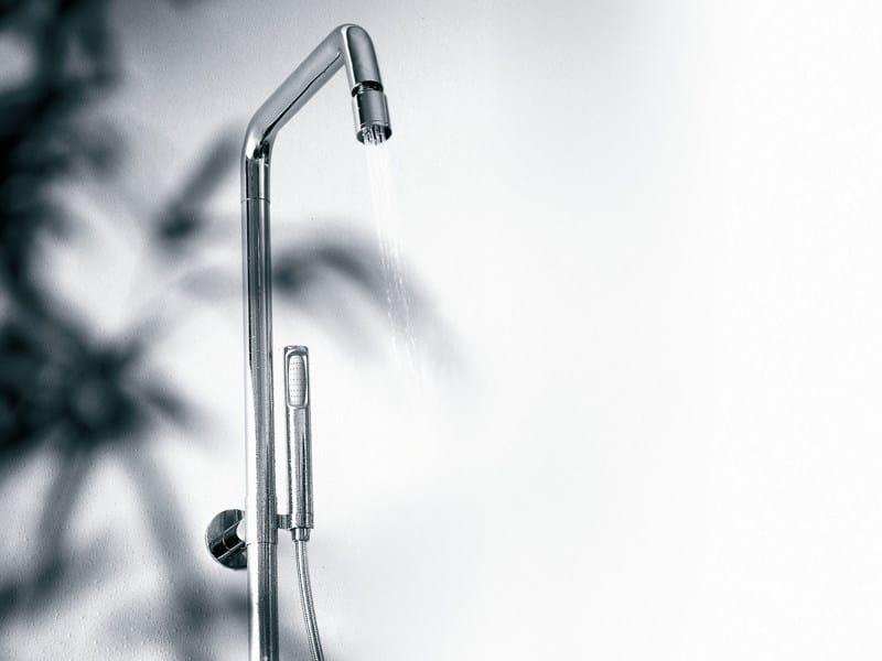 Shower panel with hand shower ISY | Shower panel with hand shower - ZUCCHETTI