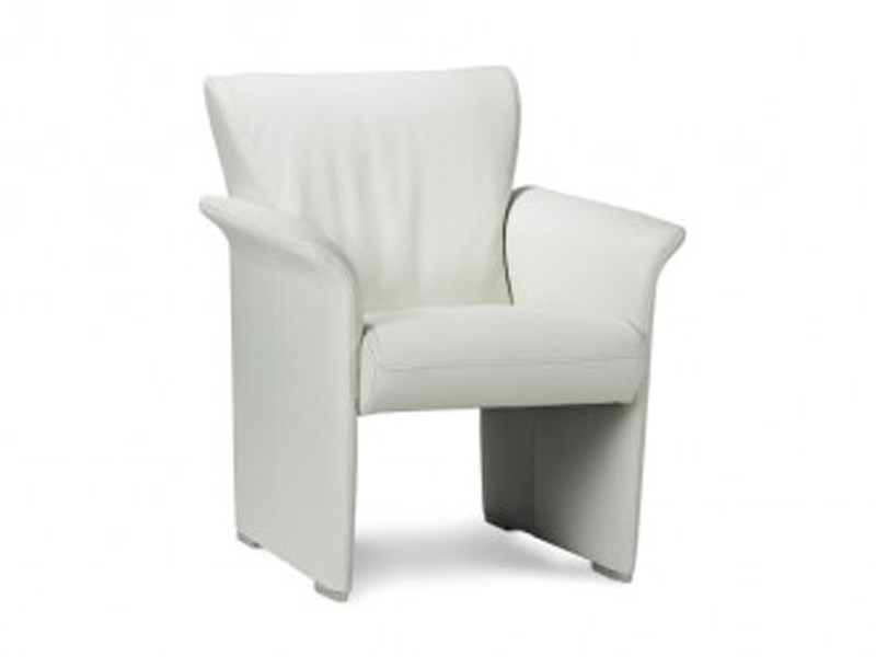 Armchair with armrests with headrest with footstool AQUA - Jori