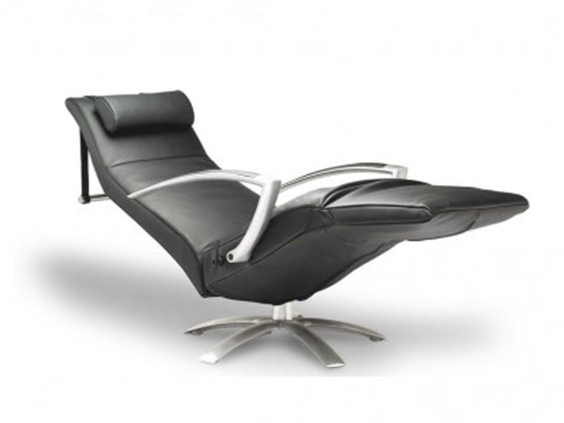 recliner armchair with armrests with headrest brainbuilder. Black Bedroom Furniture Sets. Home Design Ideas