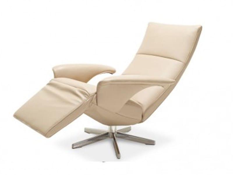 Reclining chair with motorised functions FELINI by JORI