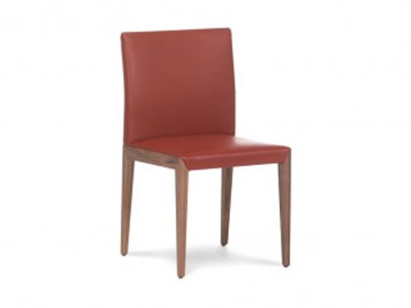 Leather chair FLAVA - Jori