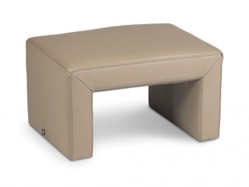Upholstered pouf ESPALDA | Pouf by JORI