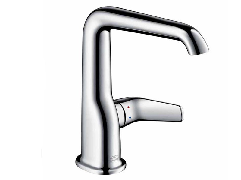 1 hole washbasin mixer AXOR BOUROULLEC   Single handle washbasin mixer - HANSGROHE