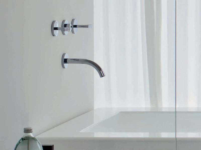 3 hole wall-mounted bathtub tap SIMPLY BEAUTIFUL | Bathtub tap - ZUCCHETTI