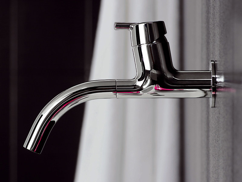 Wall-mounted 1 hole washbasin mixer SIMPLY BEAUTIFUL | Wall-mounted washbasin mixer - ZUCCHETTI