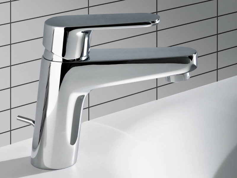 Chrome-plated 1 hole washbasin mixer SUN | Washbasin mixer - ZUCCHETTI