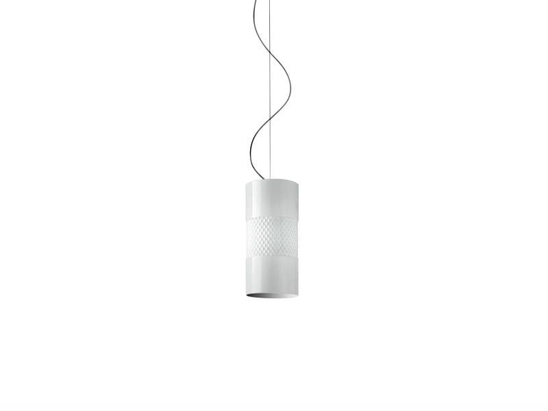 Halogen glass pendant lamp BECKY | Pendant lamp - Fabbian
