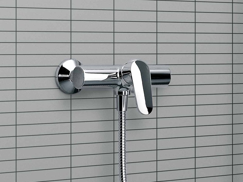 Chrome-plated shower mixer SUN | Shower mixer - ZUCCHETTI