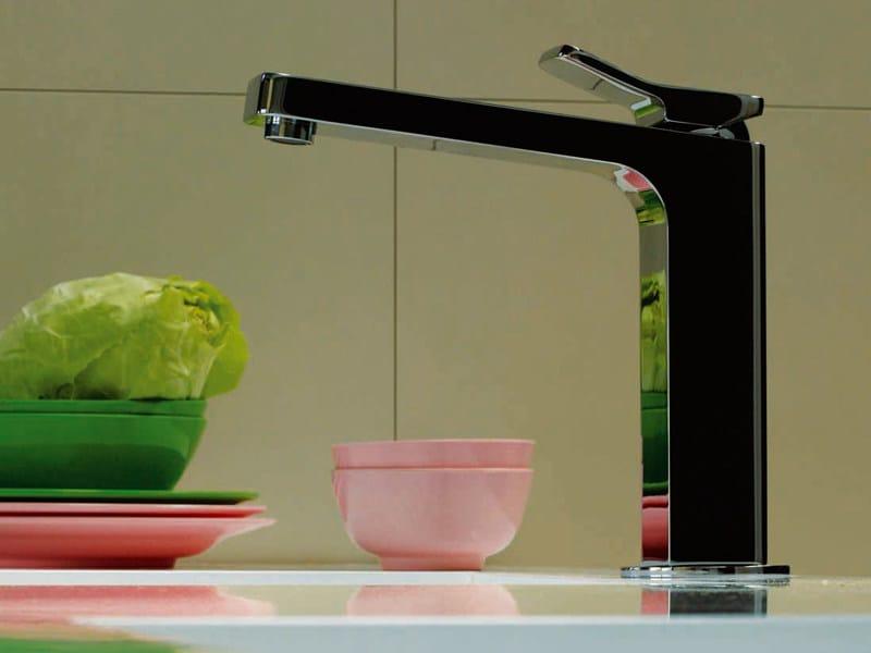 1 hole kitchen mixer tap SOFT | Kitchen mixer tap by ZUCCHETTI