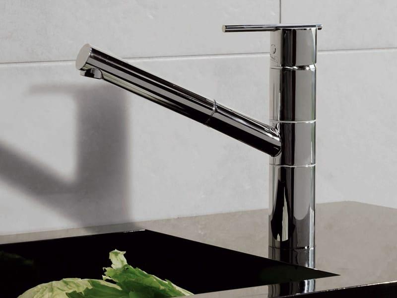 1 hole kitchen mixer tap SPIN | Kitchen mixer tap - ZUCCHETTI