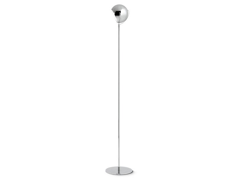 Adjustable metal floor lamp BELUGA STEEL | Floor lamp by Fabbian