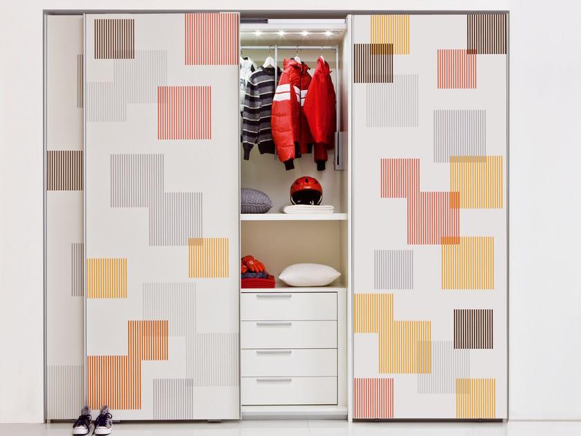 Wardrobe with sliding doors Wardrobe with sliding doors - CLEI