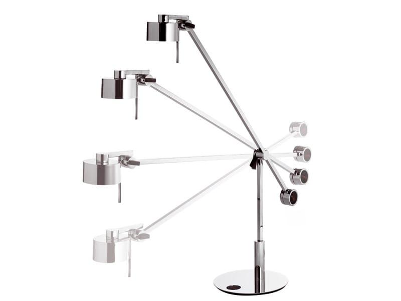 Adjustable chrome plated desk lamp AX20 | Desk lamp - AXO LIGHT