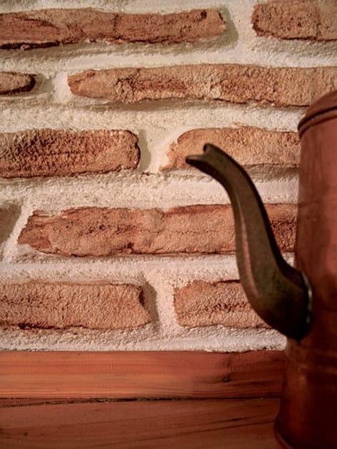 Rivestimento in cemento effetto pietra MURO STAMPATO - IDEAL WORK