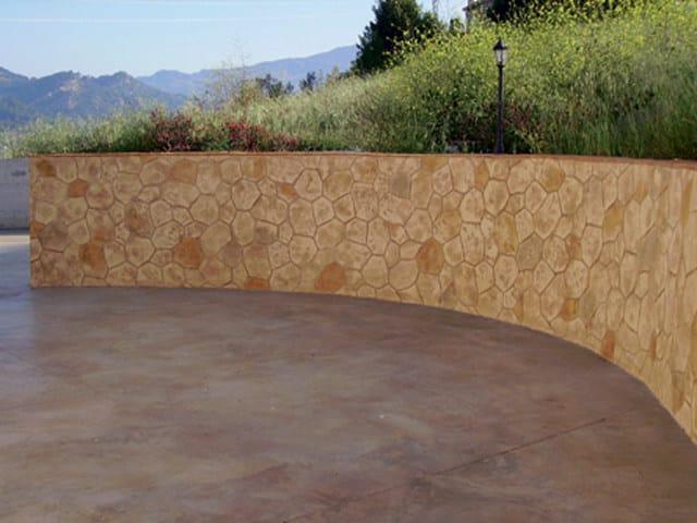 Pietra esterna pietre per muri da esterno albanesi with - Chiocciola per intonaco ...